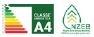 Logo classe energetica | prontocasaenergy.it