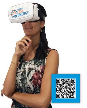 Donna visore realtà aumentata | prontocasaenergy.it