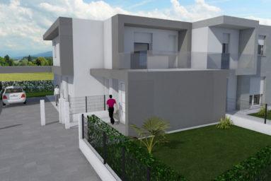 Disegno 3d villa | prontocasaenergy.it